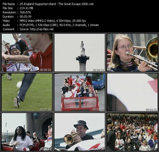 England Supporters Band video screenshot