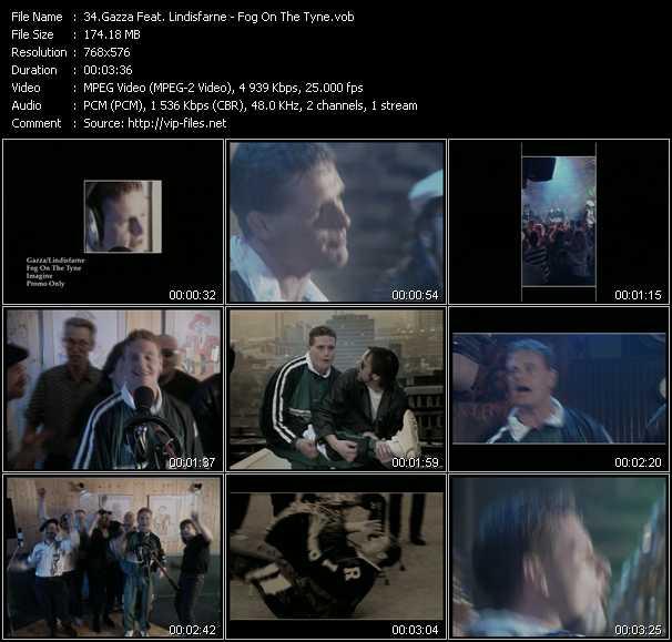 Gazza Feat. Lindisfarne video screenshot