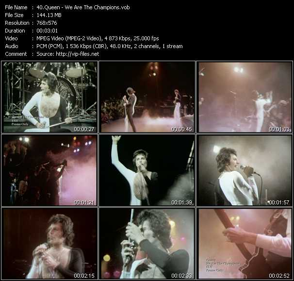 Queen video screenshot