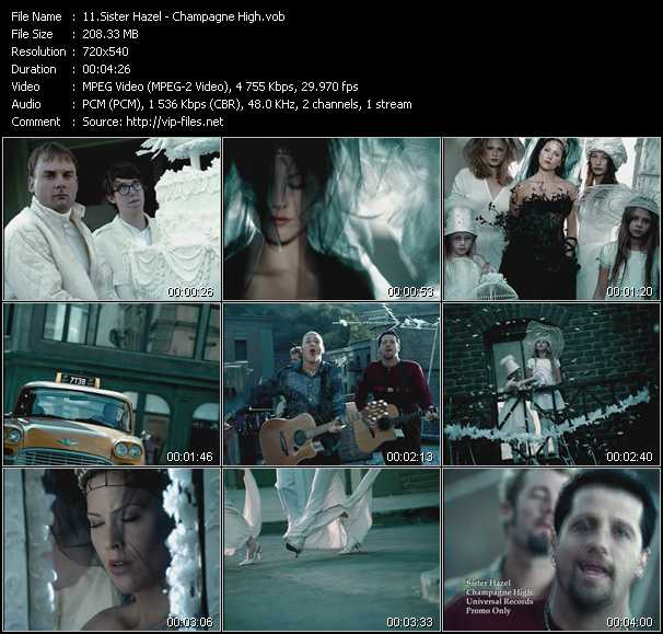 Sister Hazel video screenshot