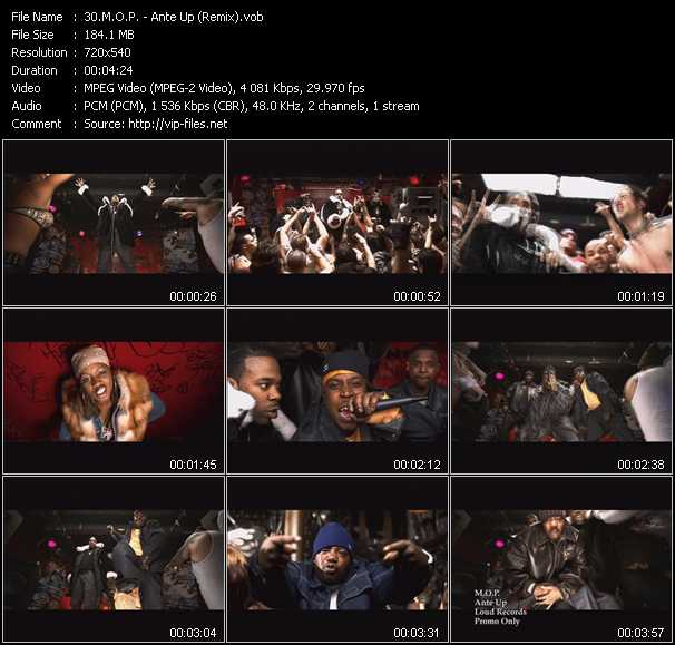 M.O.P. video screenshot