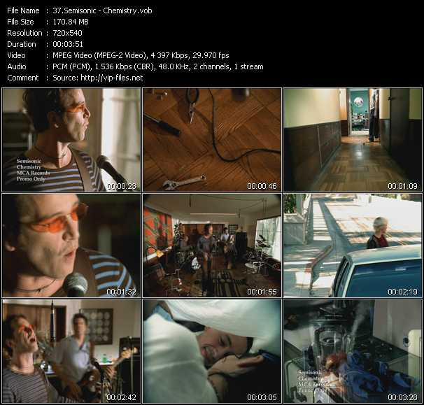 Semisonic video screenshot