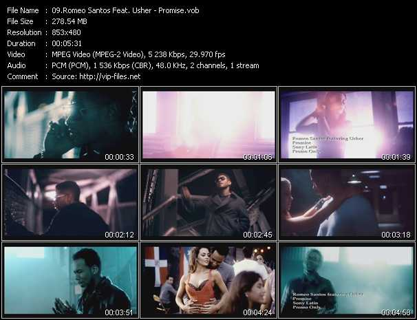 Romeo Santos Feat. Usher video screenshot