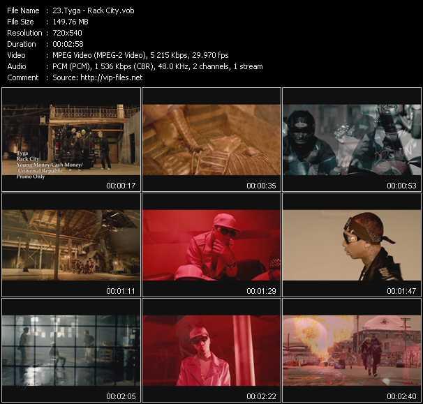 video Rack City screen