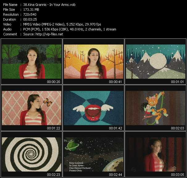 Kina Grannis video screenshot