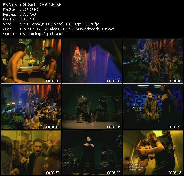 Jon B. video screenshot