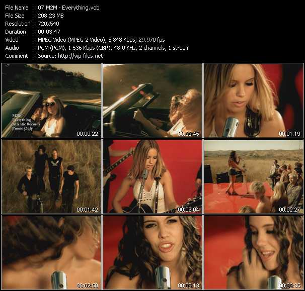 M2M video screenshot