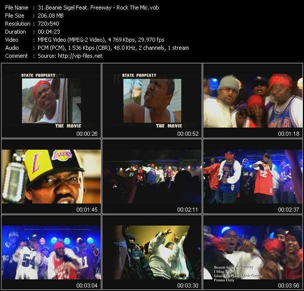 Beanie Sigel Feat. Freeway video screenshot