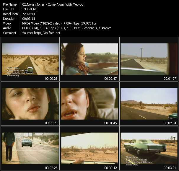 Norah Jones video screenshot