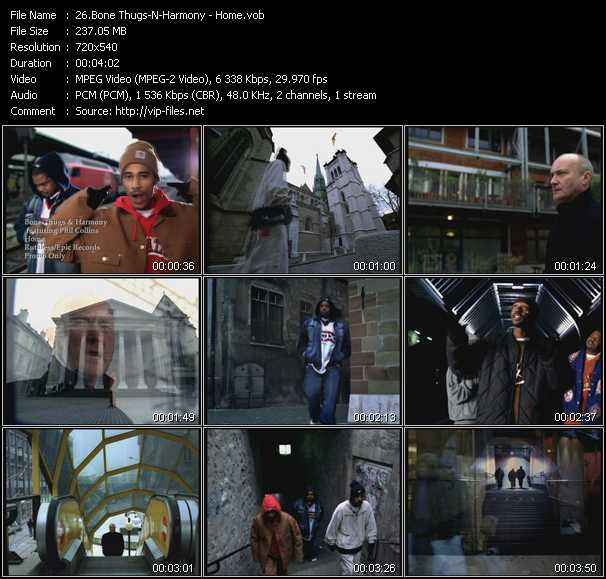 Bone Thugs-N-Harmony video screenshot