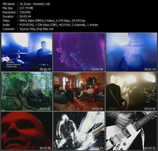 Zwan video screenshot