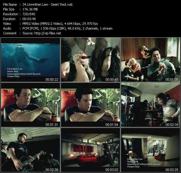 Unwritten Law video screenshot