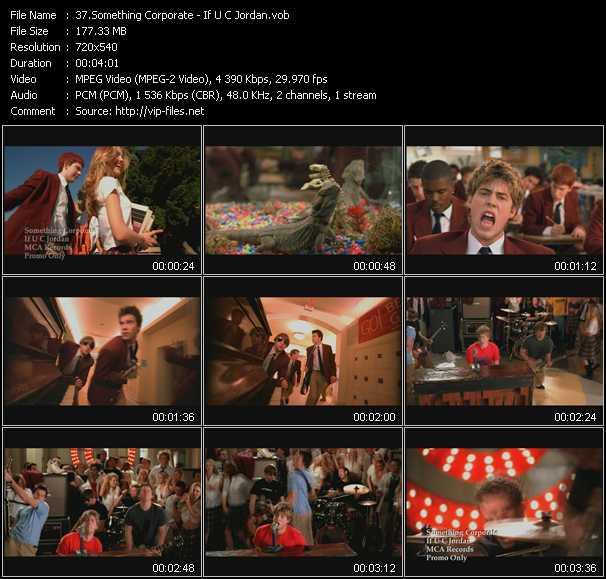 Something Corporate video screenshot