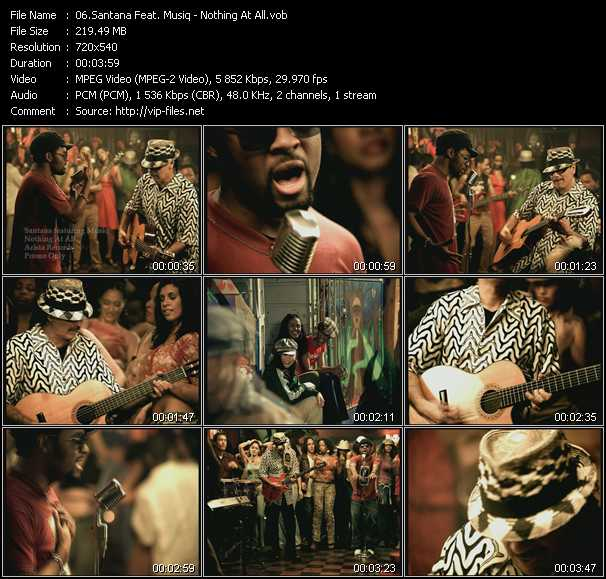 Santana Feat. Musiq video screenshot