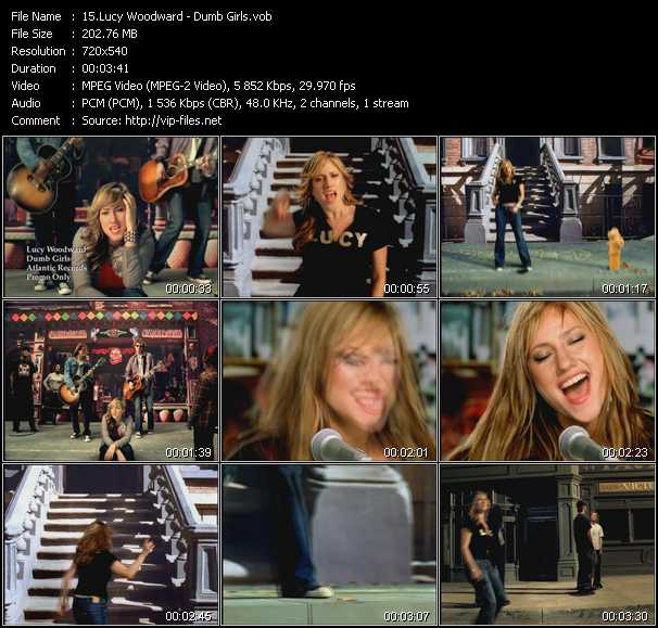 Lucy Woodward video screenshot