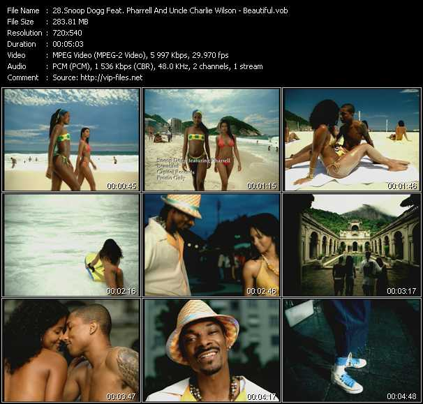 Snoop Dogg Feat. Pharrell Williams And Uncle Charlie Wilson video screenshot
