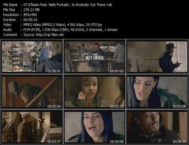 K'Naan Feat. Nelly Furtado video screenshot