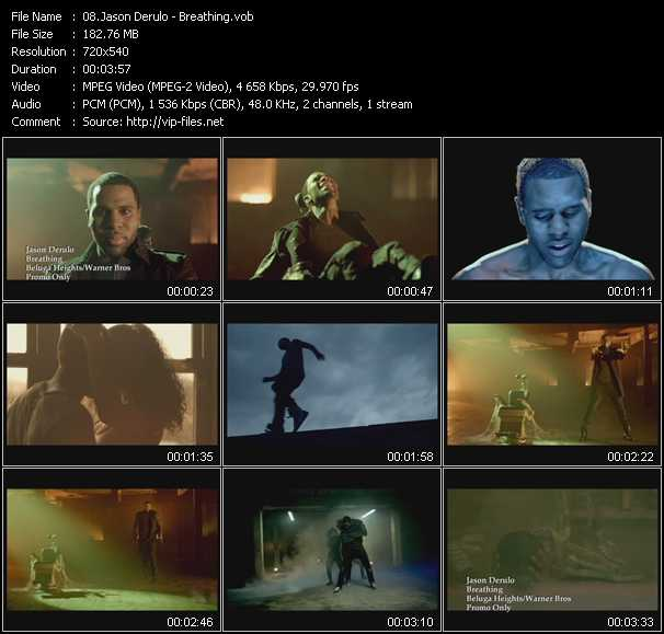 Jason Derulo video screenshot