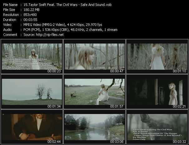 Taylor Swift Feat. The Civil Wars video screenshot