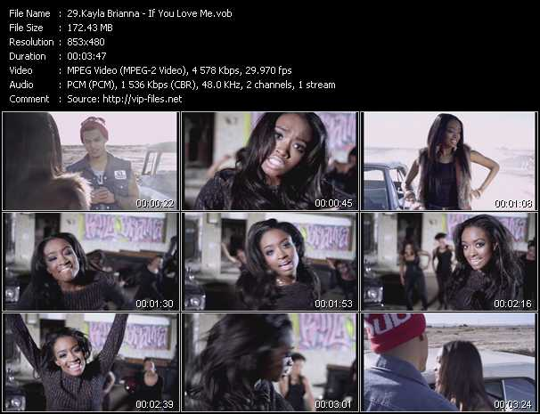 Kayla Brianna video screenshot