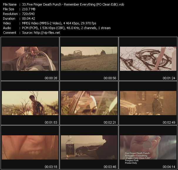 Five Finger Death Punch video screenshot
