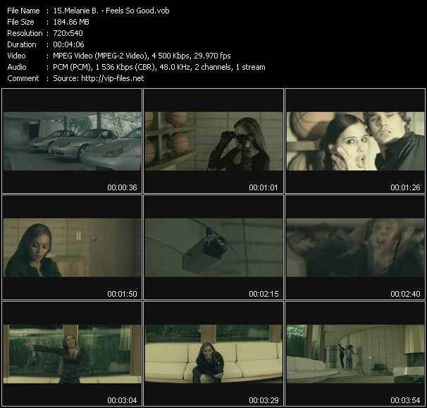 Melanie B. video screenshot