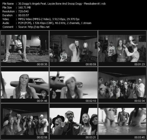Doggy's Angels Feat. Layzie Bone And Snoop Dogg video screenshot