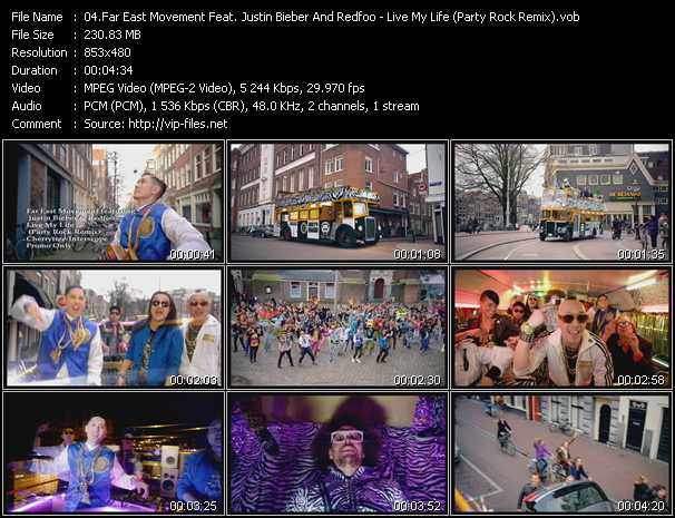 video Live My Life (Party Rock Remix) screen