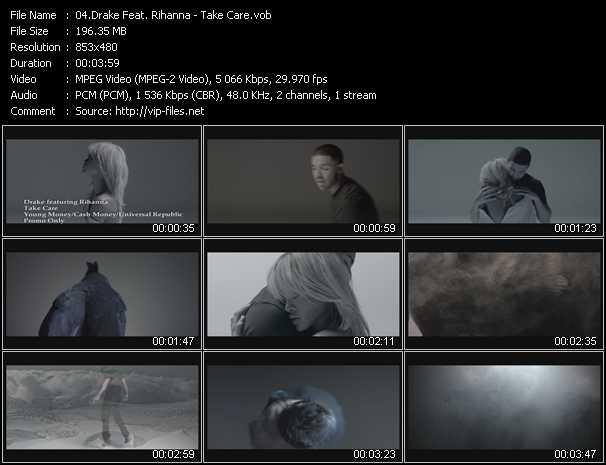 video Take Care screen
