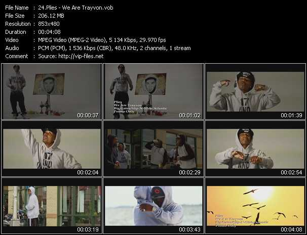 Plies video screenshot