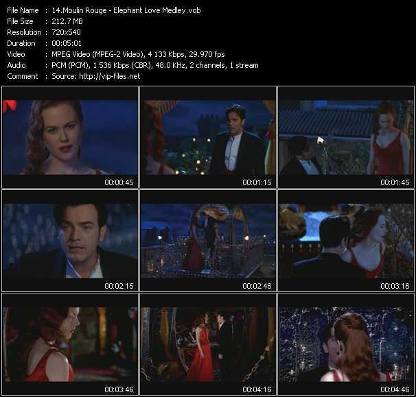 Moulin Rouge video screenshot