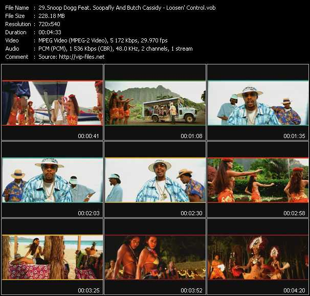 Snoop Dogg Feat. Soopafly And Butch Cassidy video screenshot