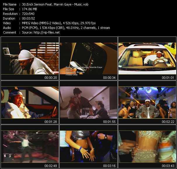 Erick Sermon Feat. Marvin Gaye video screenshot