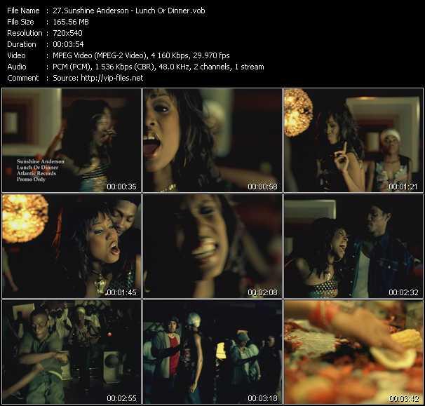 Sunshine Anderson video screenshot