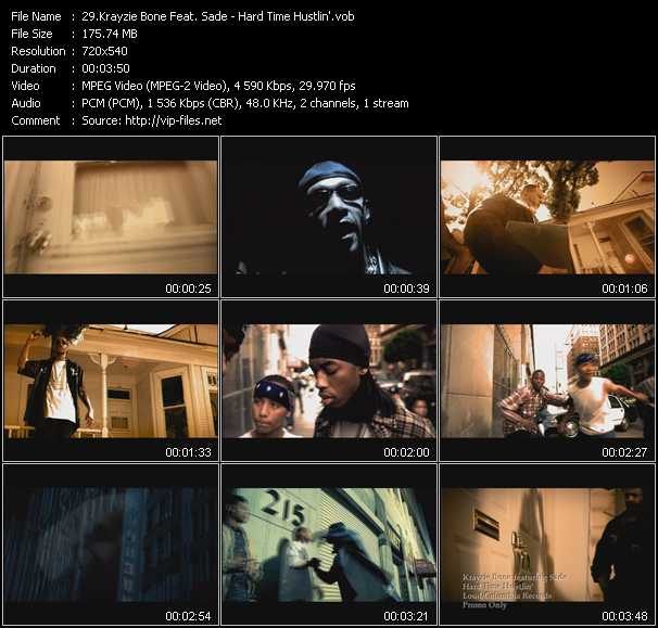Krayzie Bone Feat. Sade video screenshot