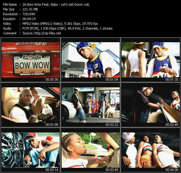 Bow Wow Feat. Baby video screenshot