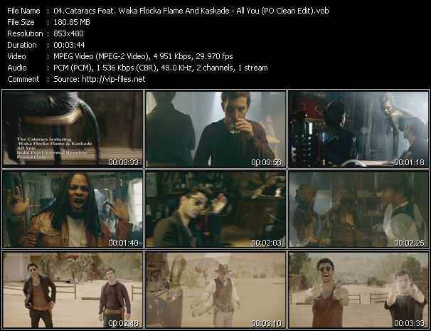 Cataracs Feat. Waka Flocka Flame And Kaskade video screenshot