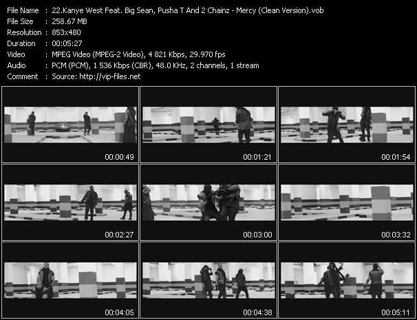 Kanye West Feat. Big Sean, Pusha T And 2 Chainz video screenshot