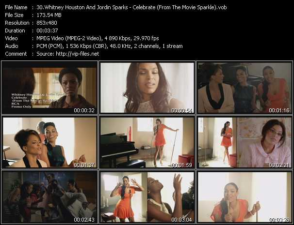 Whitney Houston And Jordin Sparks video screenshot