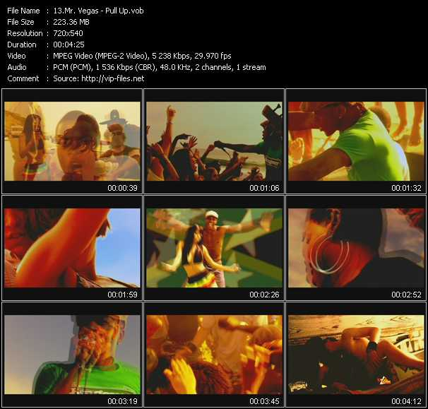 Mr. Vegas video screenshot