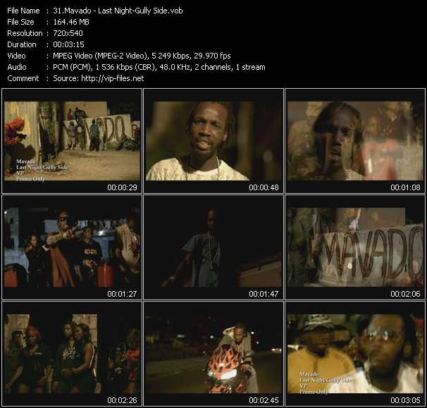 Mavado video screenshot