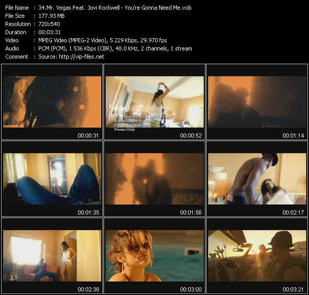 Mr. Vegas Feat. Jovi Rockwell video screenshot