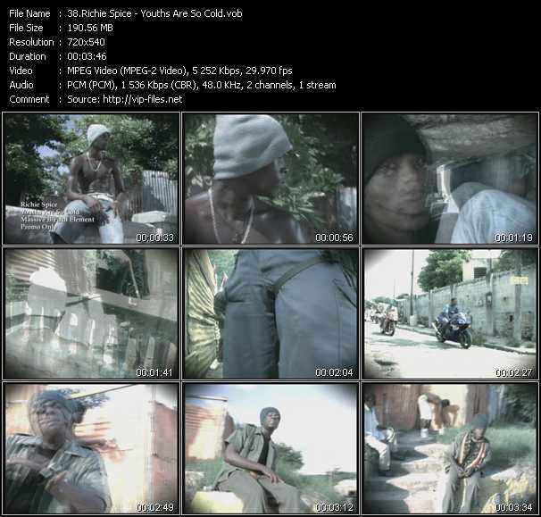 Richie Spice video screenshot