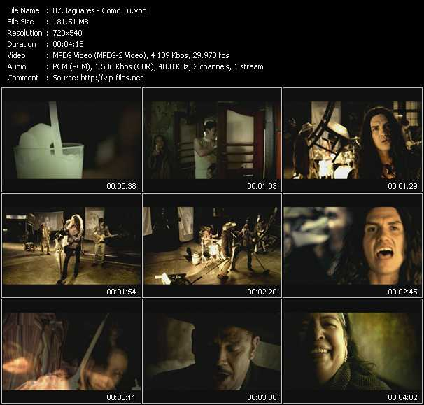 Jaguares video screenshot