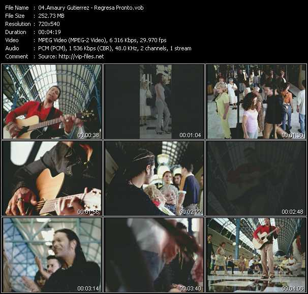 Amaury Gutierrez video screenshot