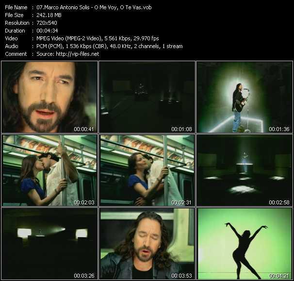 Marco Antonio Solis video screenshot