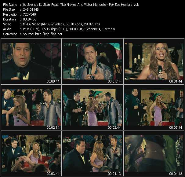 Brenda K. Starr Feat. Tito Nieves And Victor Manuelle video screenshot
