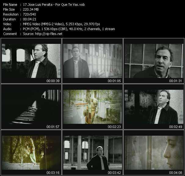 Jose Luis Peralta video screenshot