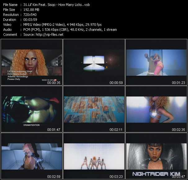 Lil' Kim Feat. Sisqo video screenshot