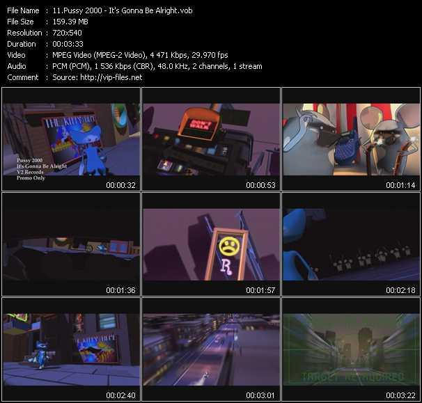 Pussy 2000 video screenshot